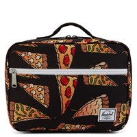 Pop Quiz Black & Pizza Lunch Box
