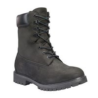Men's 8 Inch Premium Black Boot