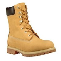 Men's 8 Inch Premium Wheat Boot
