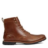 Men's Kendrick Side Zip Brown Boot