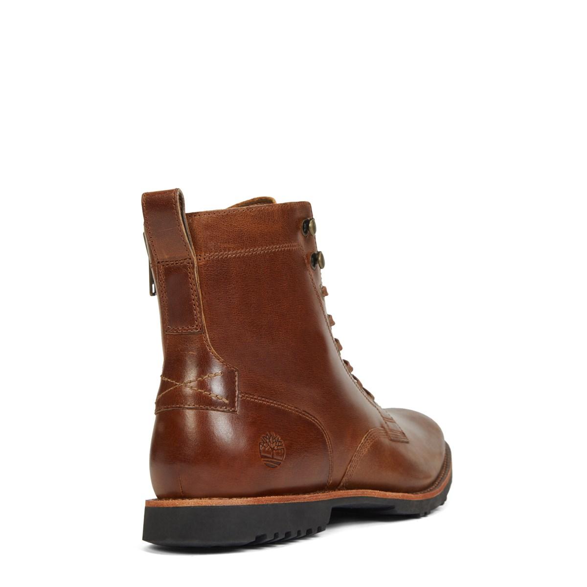 Men S Kendrick Side Zip Brown Boot Little Burgundy