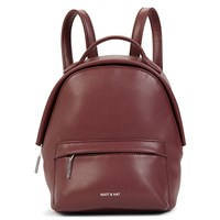 Munich Mini Jam Burgundy Backpack