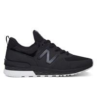 Men's MS574SBK Black Sneaker