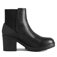 Women's Mont Royal Black Ankle Boot
