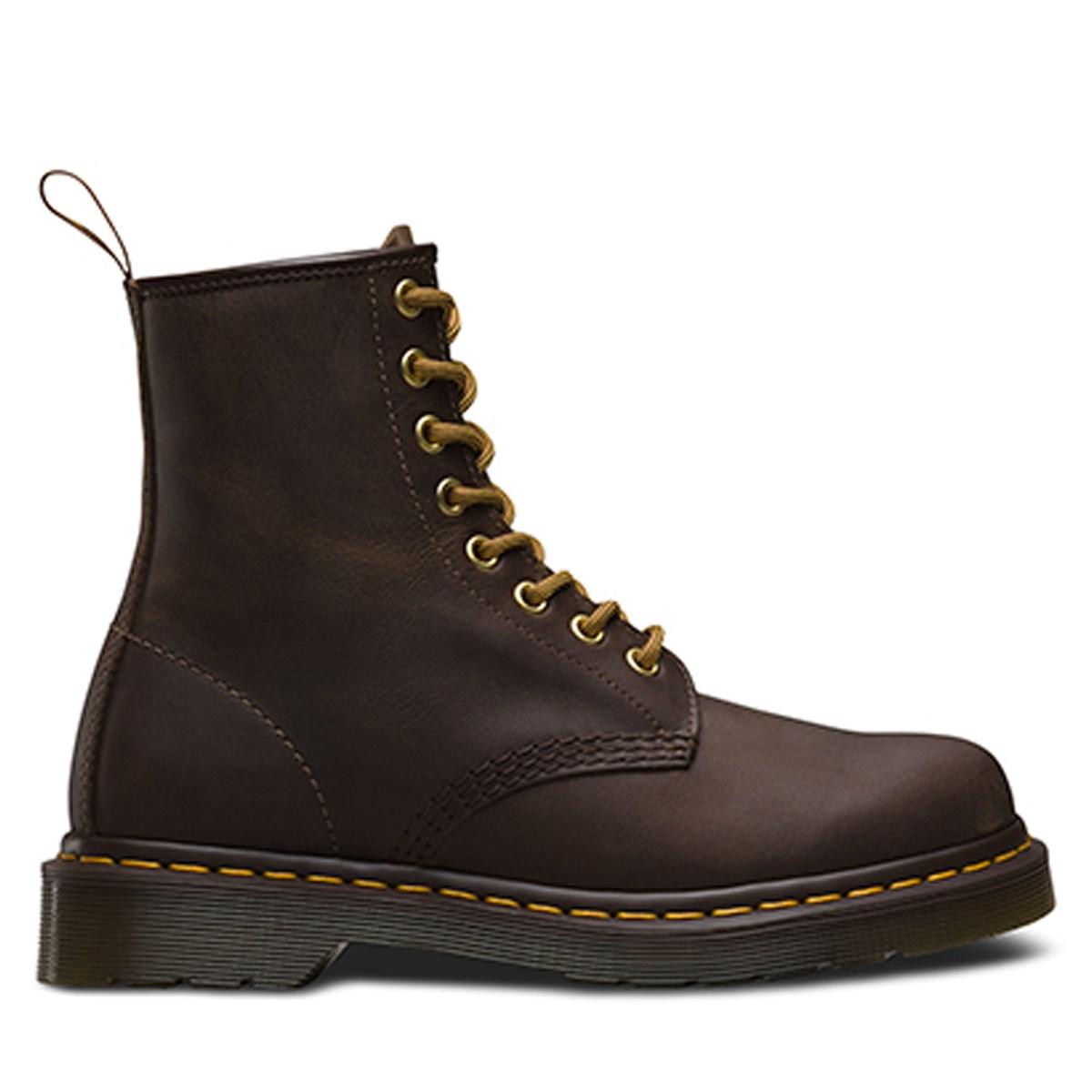 Men's 1460 Aztec Crazy Horse Brown Boot