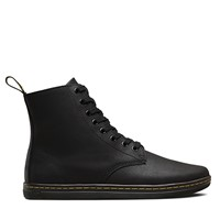 Men's Tobias Greasy Black Leather Boot