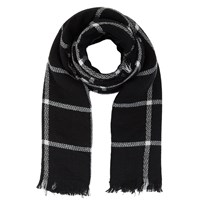 Fay Black/White Scarf