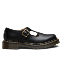 Women's Icons Polley Black Flats