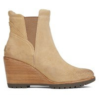 Women's After Hourse Chelsea Suede Camel Boots