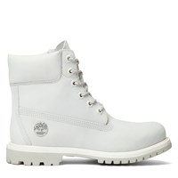 Women's 6 Inch Premium White Boot
