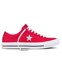 Men's One Star OX Leather Red Sneaker