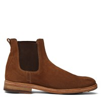 Men's Cupro Tobacco Suede Leather Cognac Boot