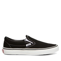 Unisex Classic Black Slip-On