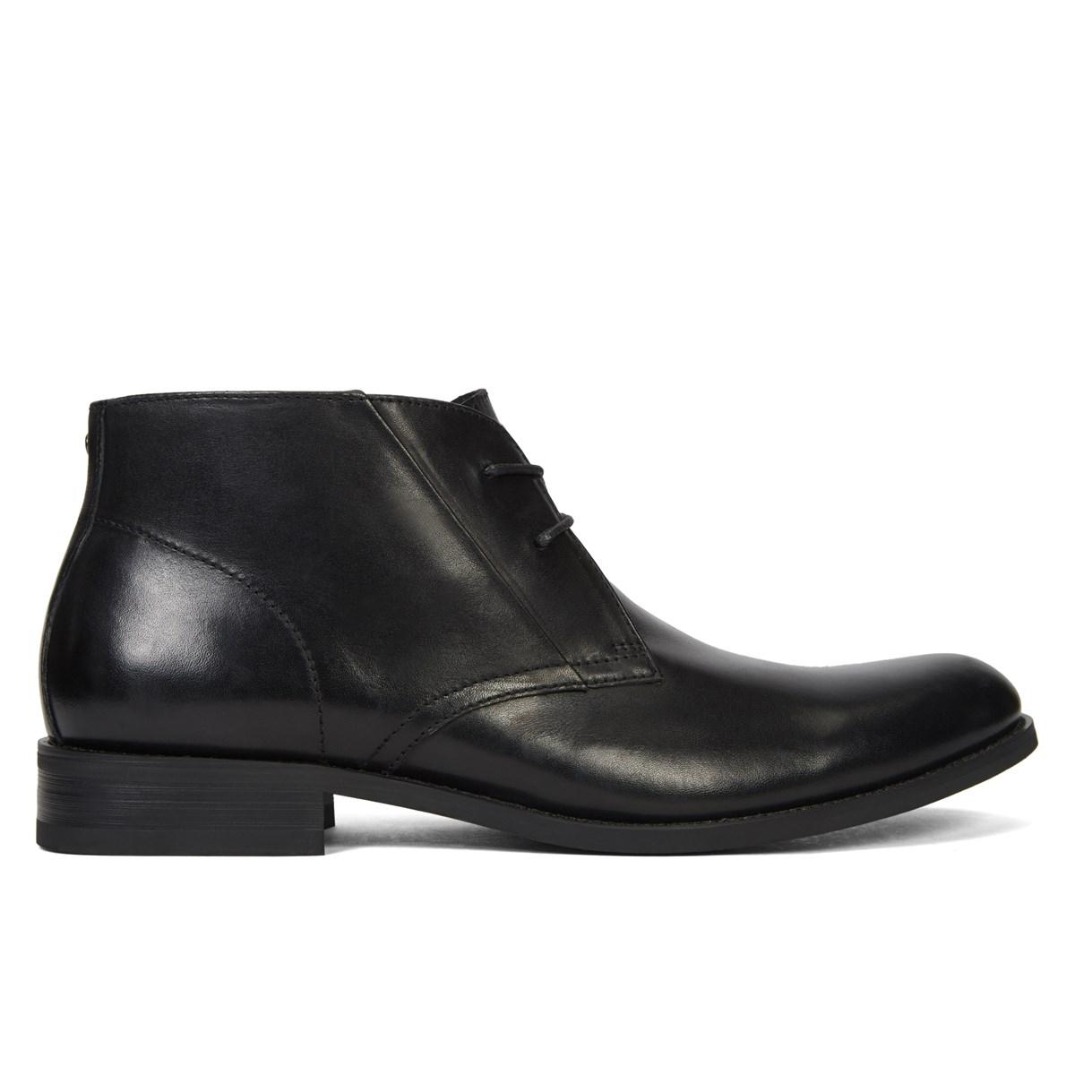 s adelmo leather black lace up shoe burgundy