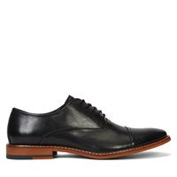 Men's Lotte Black Leather Lace-Up Shoe