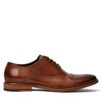 Men's Lotte Tan Burnished Leather Lace-Up Shoe