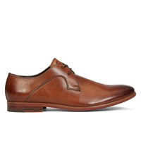 Men's Giotto Tan Burnished Leather Lace-Up Shoe