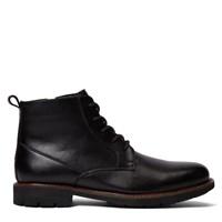 Men's Leon Black Soft Action Leather Boot