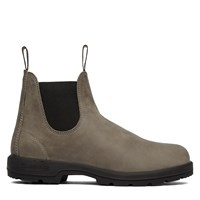 Leather Lined Steel Grey Boot