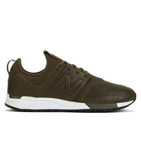 Men's MRL247 Leather Olive/White Sneaker