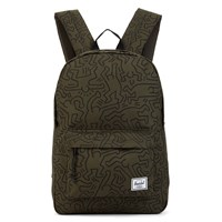 Winlaw Forest Green Keith Haring Backpack