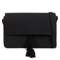 Women's Black Cross-Body Bag