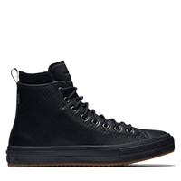 Men's Chuck Taylor Mesh Backed Black Leather Boot