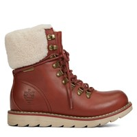Women's Lethbridge Oil Crazy Horse Cognac Boots