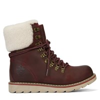 Women's Lethbridge Oil Crazy Burgundy Boots