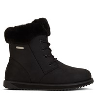 Women's Shoreline Leather Oak Black Boot