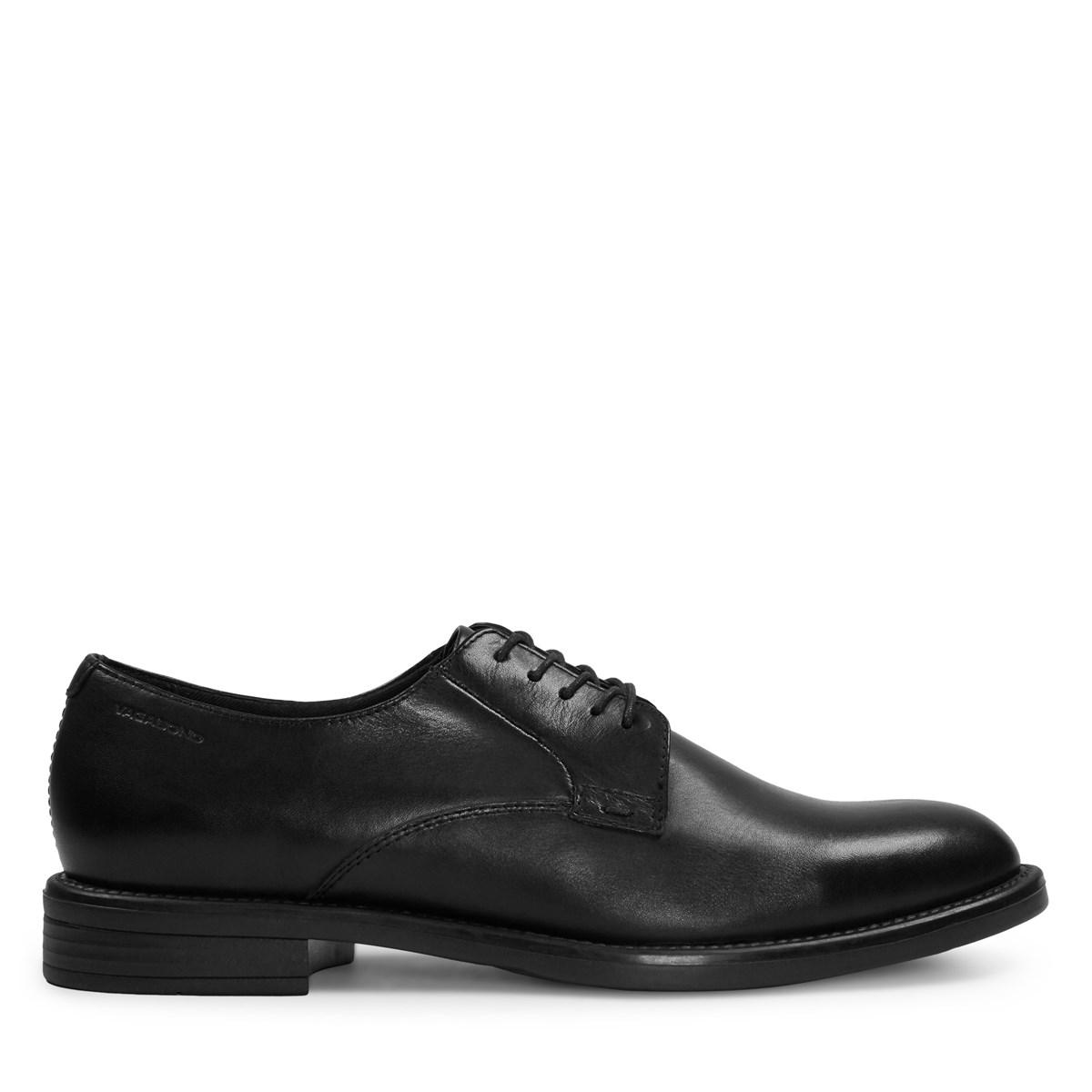 Women's Amina Black Lace-Up Shoe