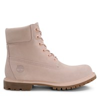 Women's 6 Inch Premium Suede Light Pink Boot
