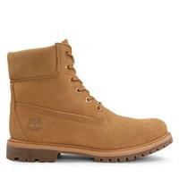 Women's 6 Inch Premium Suede Beige Boot