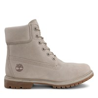 Women's 6 Inch Prenium Suede Light Taupe Boot