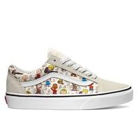 Women's Old Skool White Peanuts Sneaker