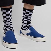 Baskets sans lacets Classic bleues pour hommes