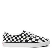 Men's Authentic Mix Checker Black Sneaker