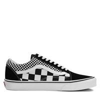 Men's Old Skool Mix Checker Black Sneaker