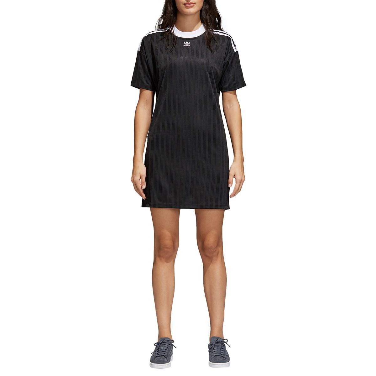 Women's Trefoil Black Dress