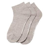 Paquet de 3 paires de chaussettes grises pour femmes