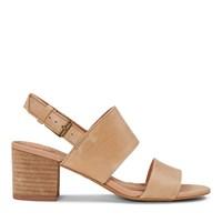 Women's Poppy Honey Leather Sandal