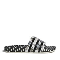 Women's Adilette Polka Dots Black/White Slide