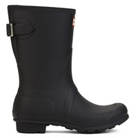 Women's Original Short Black Rain Boots