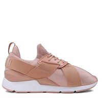 Muse Satin Women's Peach Sneakers