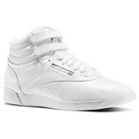 Women's Freestyle Hi white sneaker