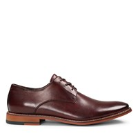 Men's Oxblood Leather Lace-Up Shoe