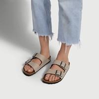 Sandales véganes Arizona grises pour femmes