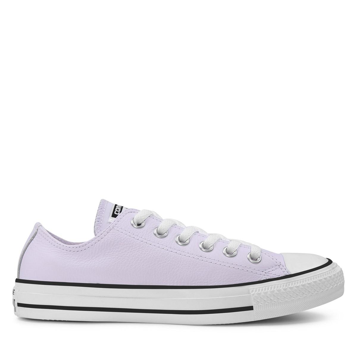 Women's OX Leather Purple Sneaker