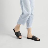Women's Anya Black Flat Sandal
