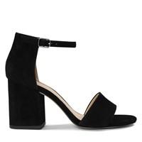 Women's Summer Strappy Black Heel